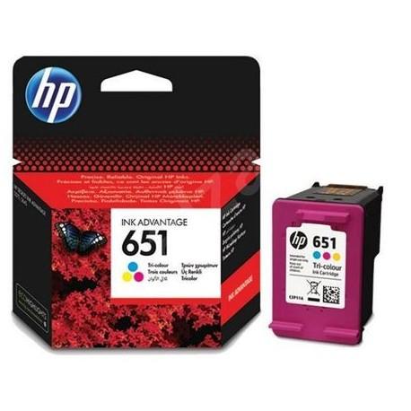 Cartus cerneala HP 651, Tricolor